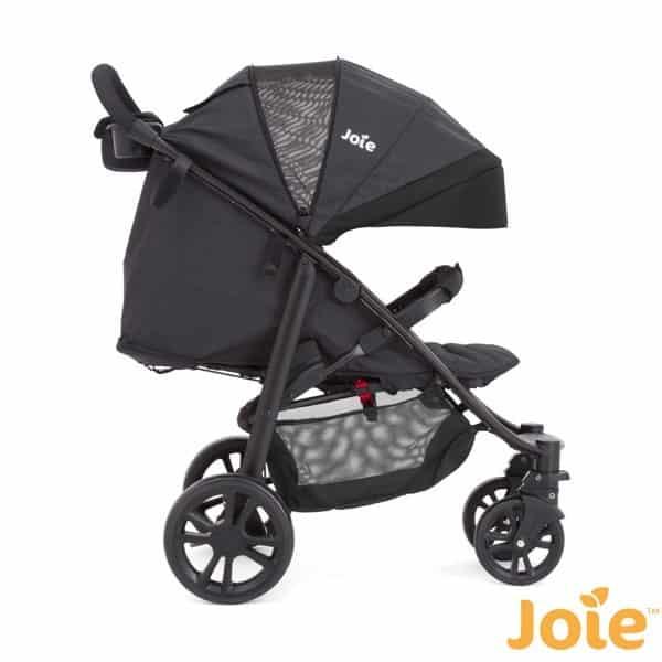 Poussette combin e joie litetrax 4 roues night sky for Porte qui se plie